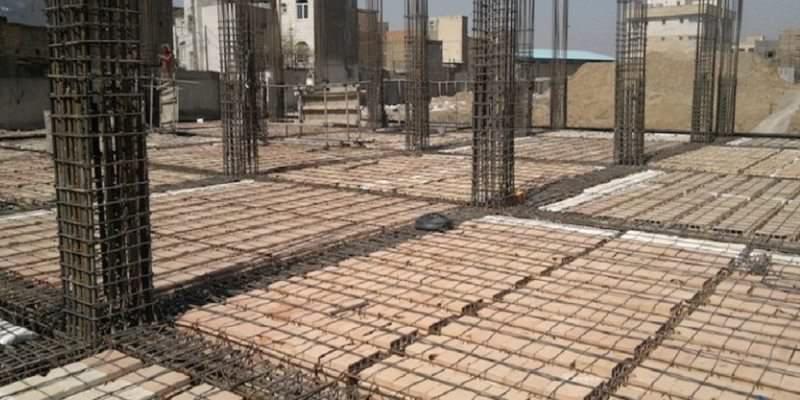 بلوک سفال سقف